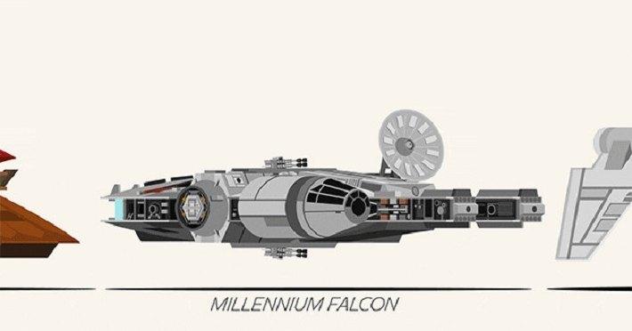 Реальные размеры кораблей из «Звездных войн»: видео