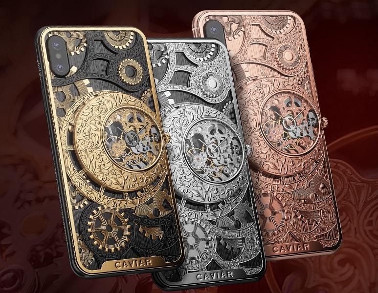 В России выпустили iPhone XS с ручным заводом