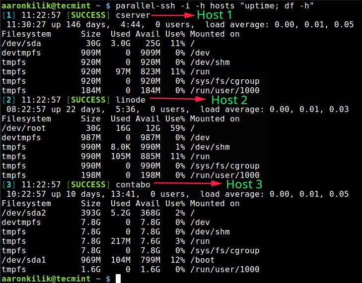 4 инструмента для одновременного выполнения команд на нескольких Linux-серверах - 2