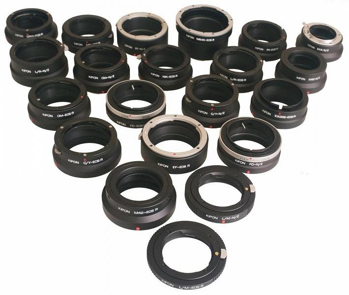 Kipon начинает поставки более 20 моделей адаптеров объективов для камер Nikon Z и Canon EOS R