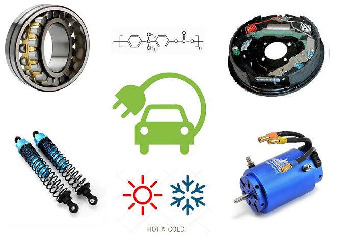 Амортизаторы, ступичные подшипники, тормоза, электродвигатель — будущие источники тепла для электромобиля? - 1