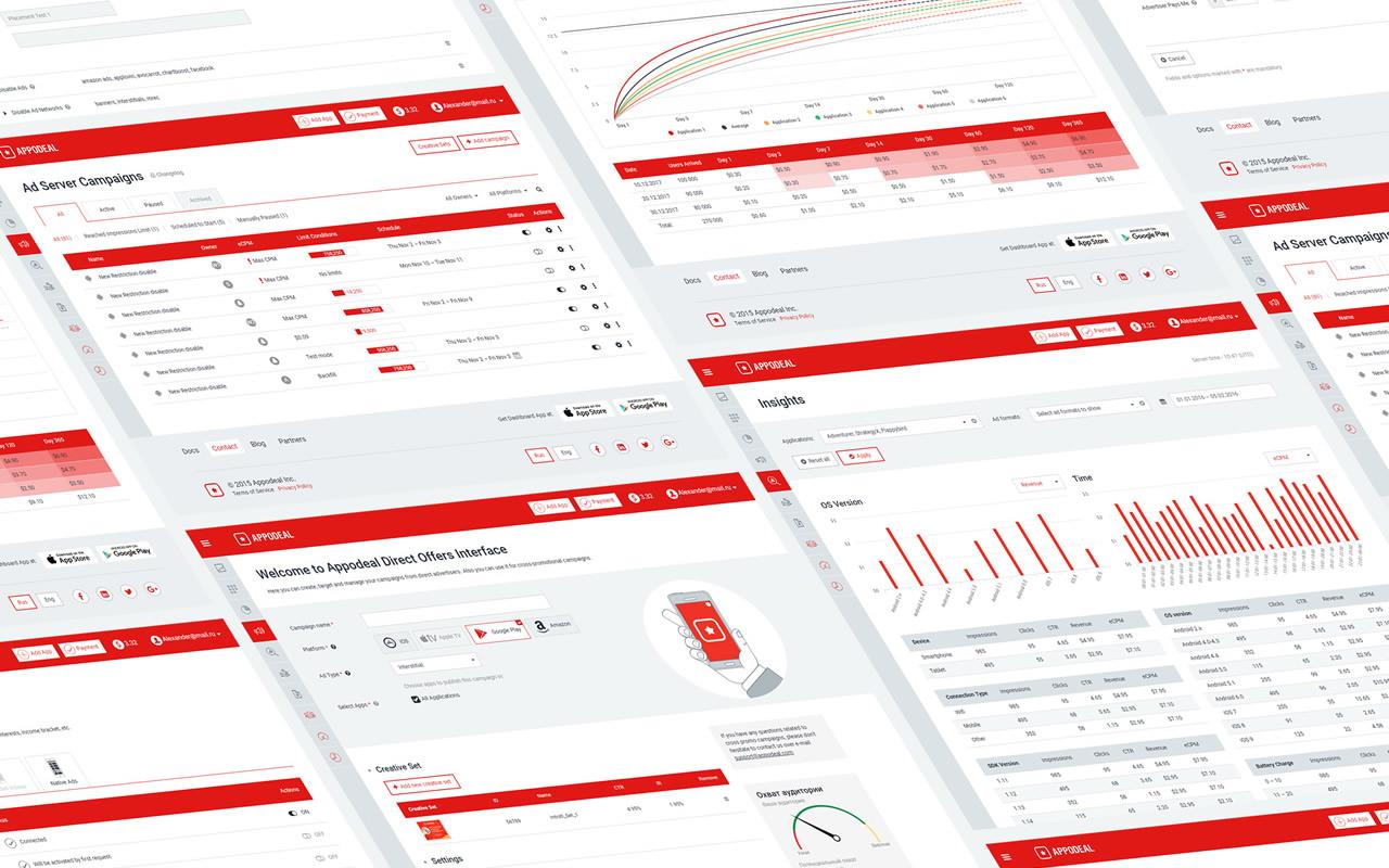 Дизайн понятного дашборда для сложной системы управления рекламой - 1