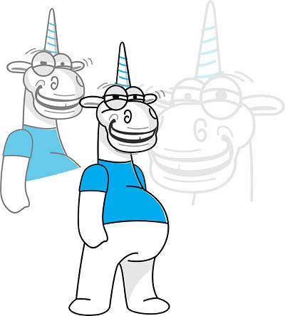Единорог смеётся