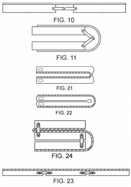 Apple запатентовала складной смартфон с гибким экраном