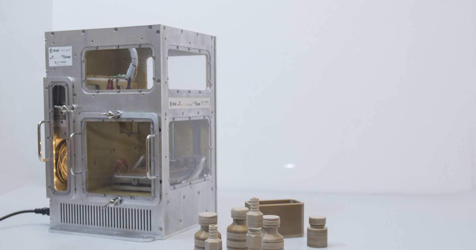 Европейцы сделали космический 3D-принтер