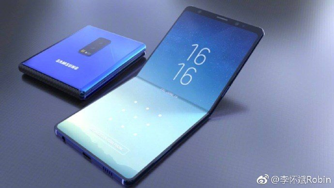 Появились новые данные о первой партии смартфонов Samsung со складным экраном