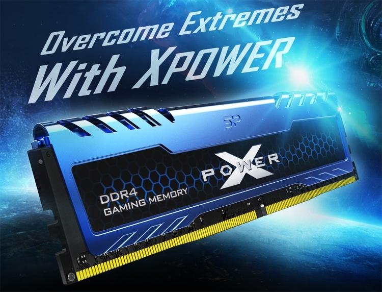 Модули памяти Silicon Power Xpower DDR4 рассчитаны на игровые ПК