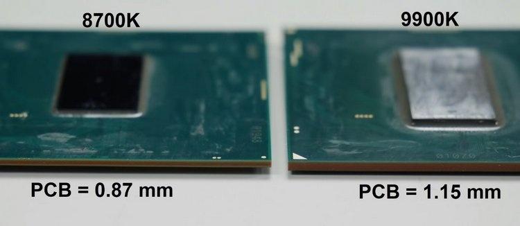Припой в новых процессорах Intel оказался не так хорош