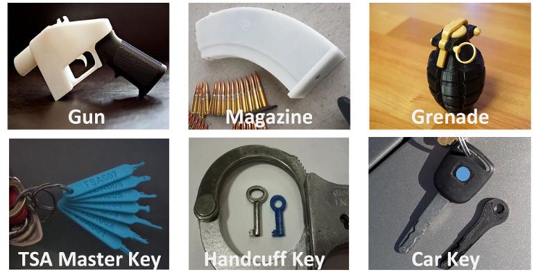 По структуре материала напечатанного предмета можно определить модель 3D-принтера и конкретное устройство - 1