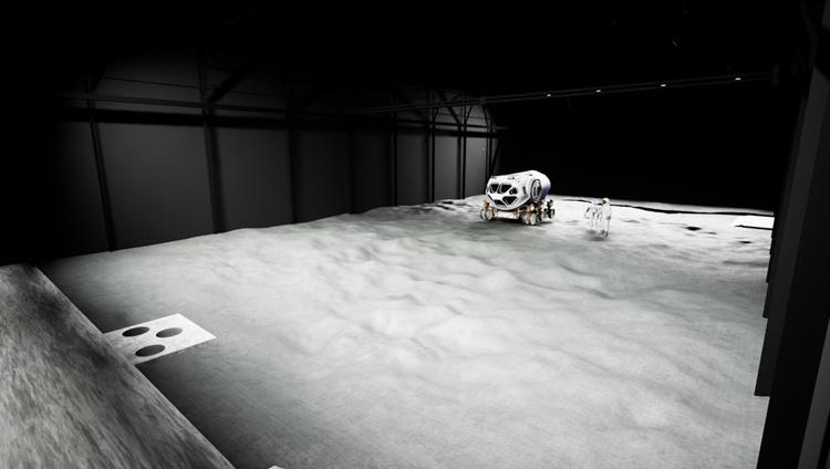 В Германии появится комплекс имитации лунной поверхности