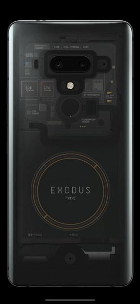 Состоялся анонс блокчейн-смартфона HTC Exodus 1