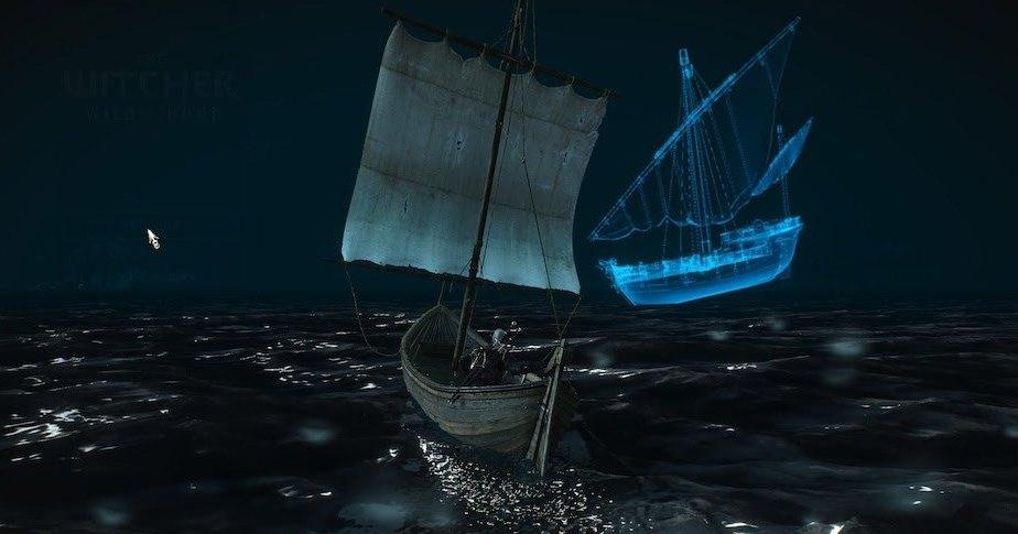 В «Ведьмаке 3: Дикая Охота» есть спрятанный корабль-призрак