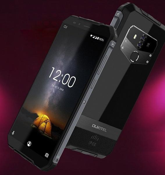 Oukitel выпустила свой первый защищенный смартфон с поддержкой беспроводной зарядки