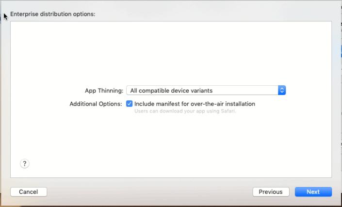 Распространение приложения под iOS внутри компании (Enterprise Distribute iOS App in-house) - 55