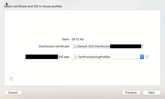 Распространение приложения под iOS внутри компании (Enterprise Distribute iOS App in-house) - 57