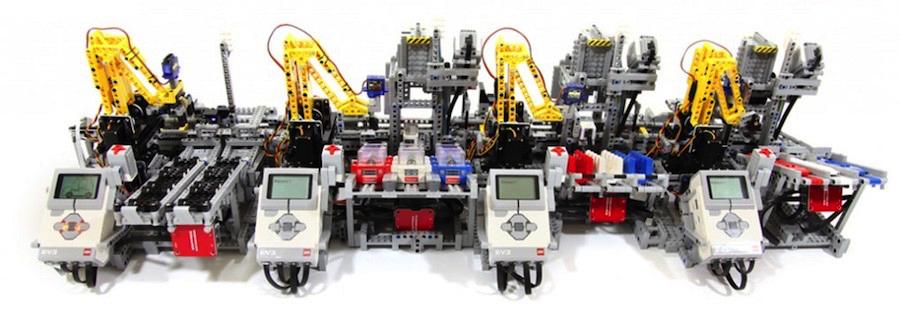 Разрабатываем беспилотный транспорт в средней школе с LEGO EV3 - 1