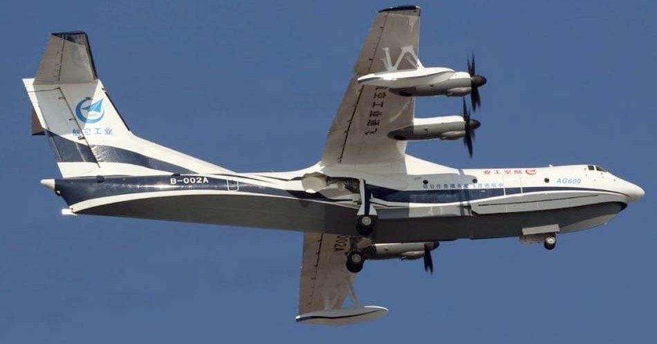 Самая большая летающая лодка впервые взлетела с воды