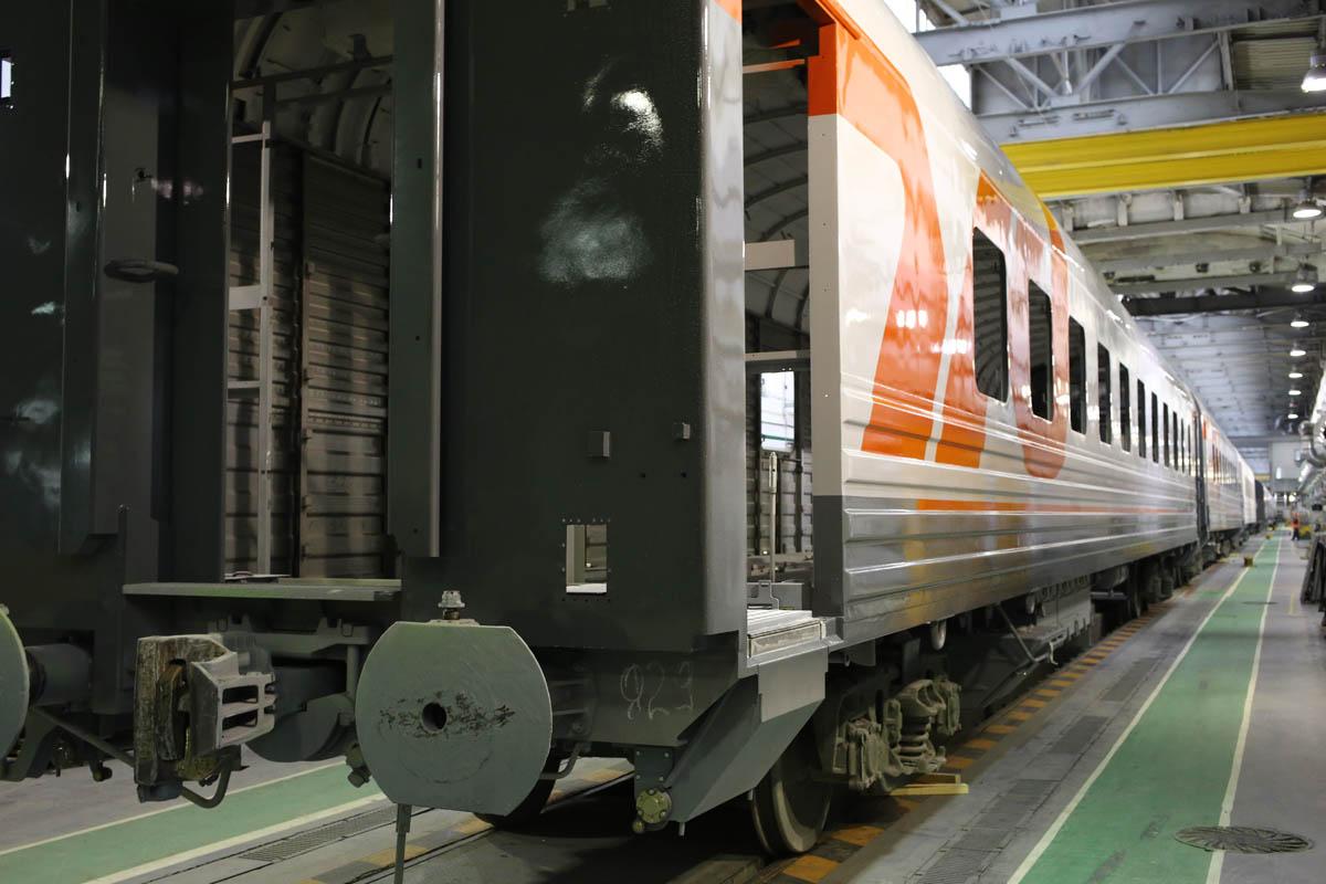 Эволюция вагона железной дороги - 1