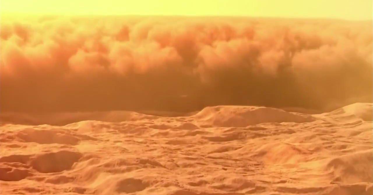 Марсианские грозы формируют яд