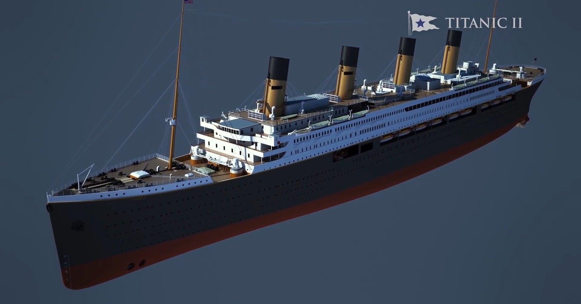 такие новый корабль титаник картинки больше