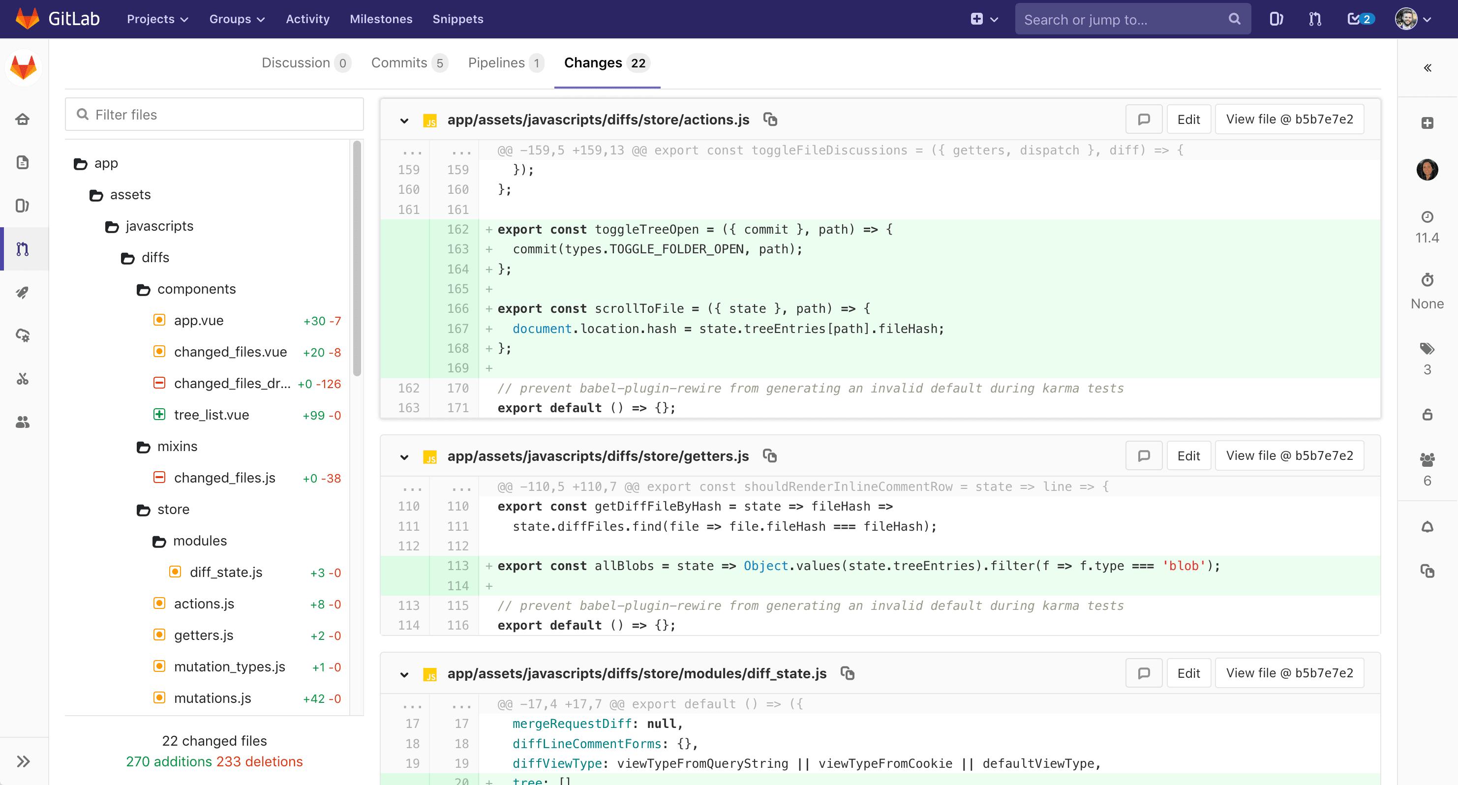 Новый выпуск GitLab 11.4 с рецензированием запросов слияния и флажками функций - 4