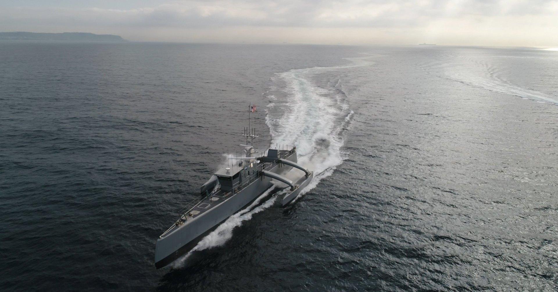 Пентагону потребовался беспилотный корабль