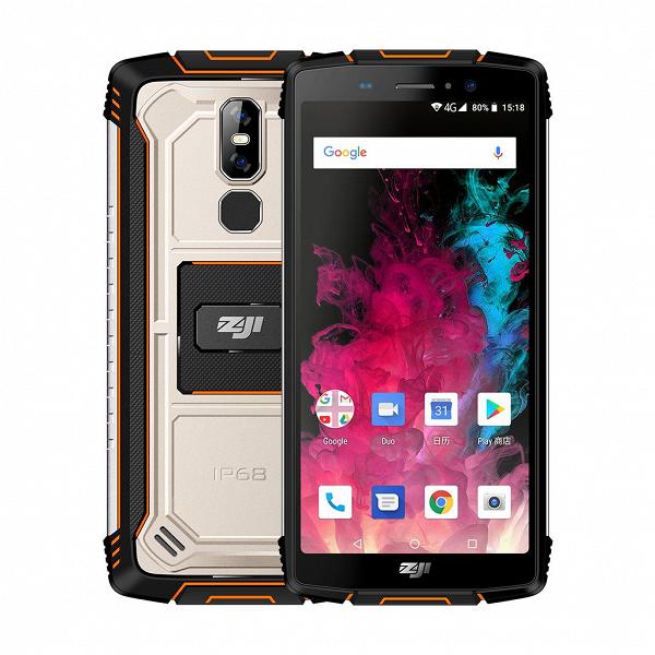 Представлен еще один недорогой смартфон с аккумулятором емкостью 10 000 мА•ч