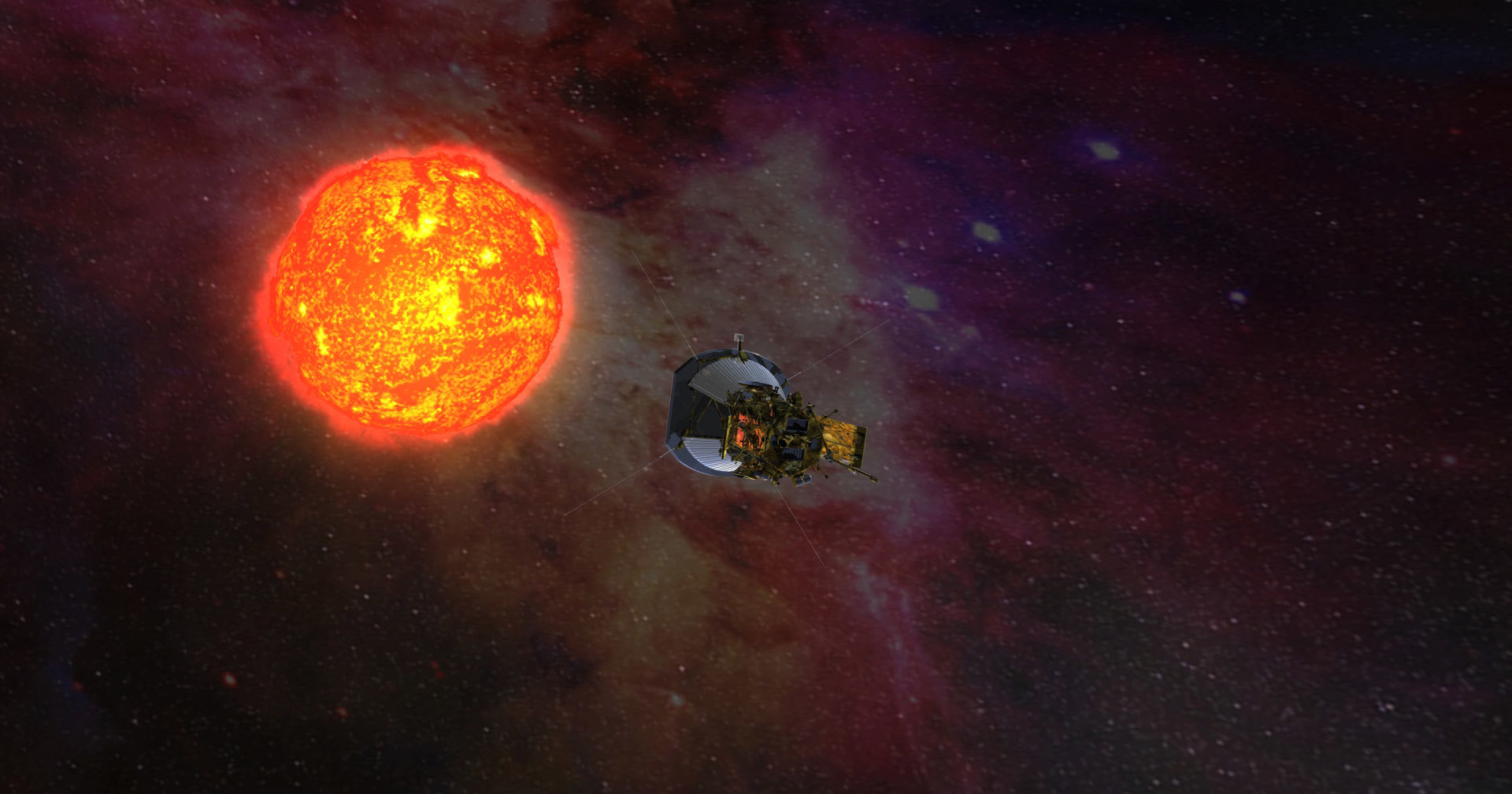 Солнечный зонд «Паркер» прислал снимок Земли