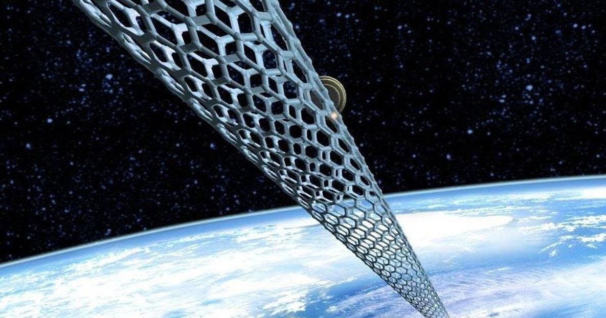Невероятно прочный материал для постройки космического лифта