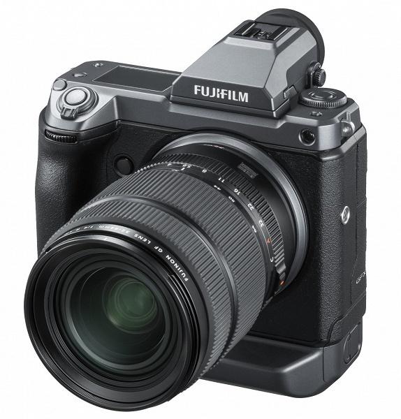 Стала известна цена среднеформатной камеры Fujifilm GFX 100