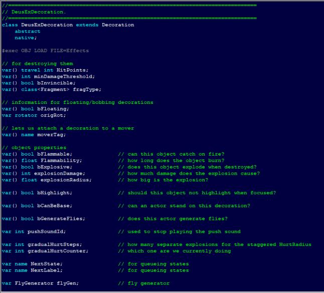 Киберпанк 2000: инструменты создания Deus Ex - 11