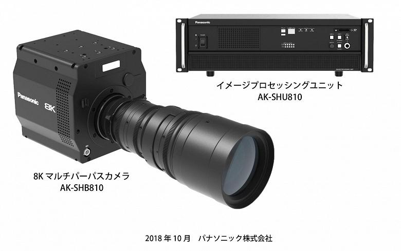 Специалистами Panasonic создан первый в мире органический датчик изображения 8K и видеокамера на его основе