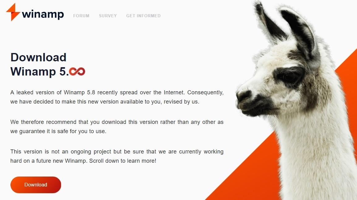 """В ожидании шестого, Winamp 5.8: """"тайна"""" происхождения, возможности официальной версии - 1"""