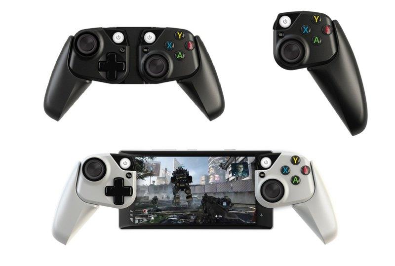 Microsoft разработала прототипы контроллеров для мобильных устройств