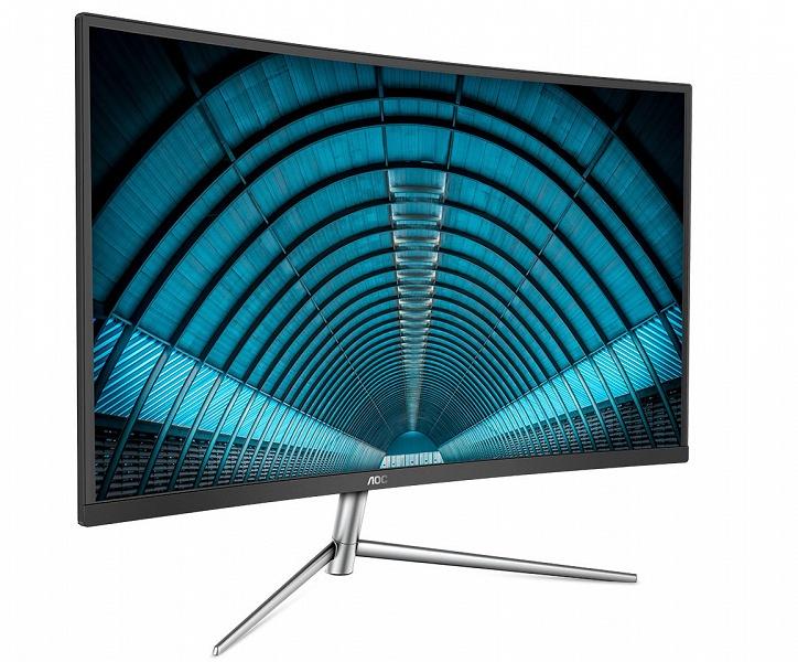 AOC C32V1Q — огромный монитор с изогнутой панелью VA, который стоит 240 долларов