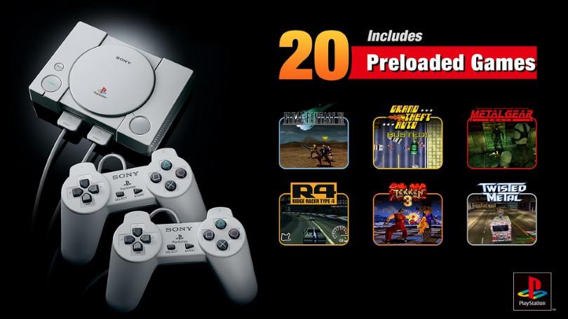 Sony опубликовала полный список игр для PlayStation Classic - 1