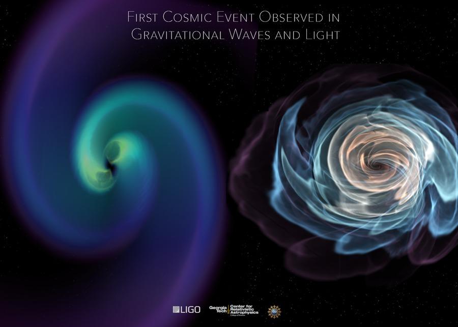 Как LIGO может увидеть гравитационные волны, если в ОТО свет растягивается вместе с пространством? - 24