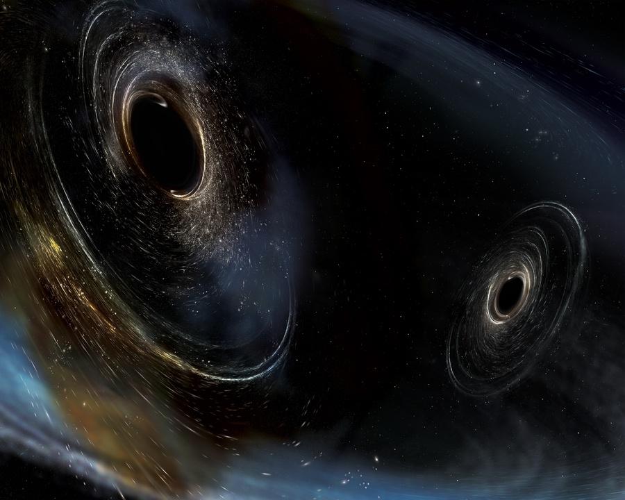 Как LIGO может увидеть гравитационные волны, если в ОТО свет растягивается вместе с пространством? - 1