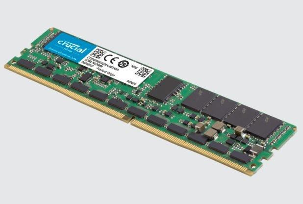 Под маркой Crucial вышли первые серверные модули памяти NVDIMM объемом 32 ГБ