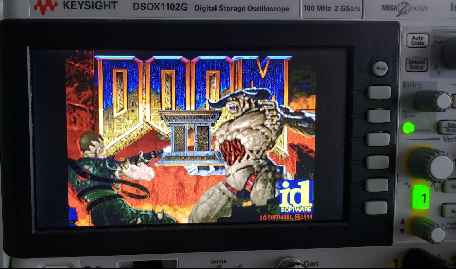 Получаем доступ к рабочему столу WinCE и запускаем Doom на осциллографе Keysight DSOX1102G - 10