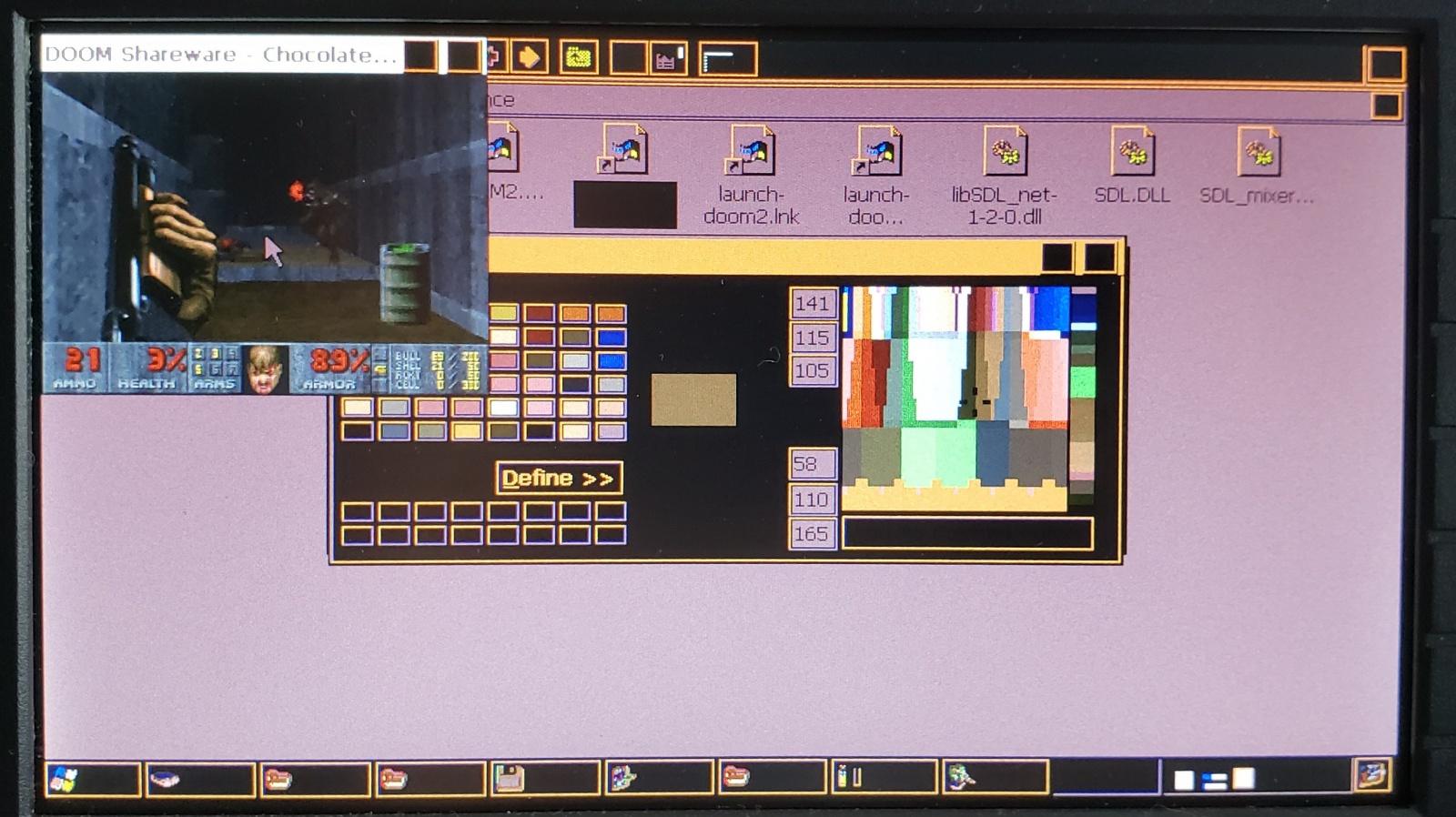 Получаем доступ к рабочему столу WinCE и запускаем Doom на осциллографе Keysight DSOX1102G - 12