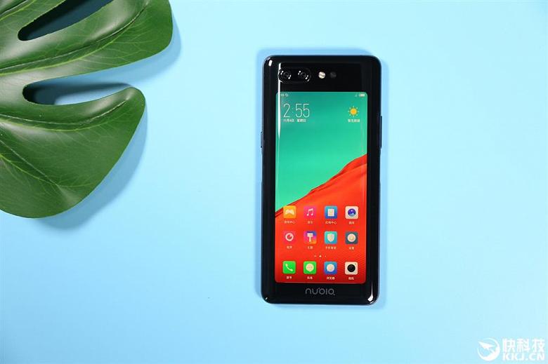 Представлен смартфон Nubia X с двумя дисплеями