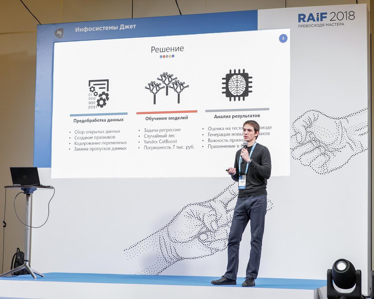 Результаты AI-хакатона RAIF Hackathon 2018 - 19