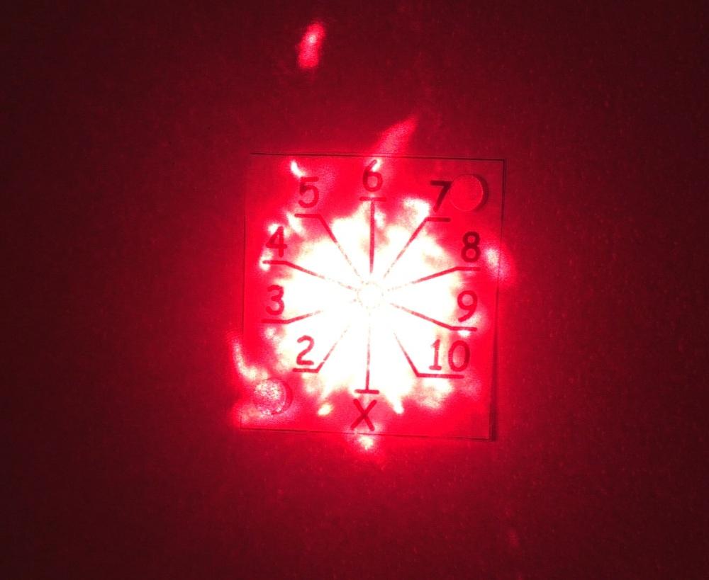 500 лазерных указок в одно место - 14
