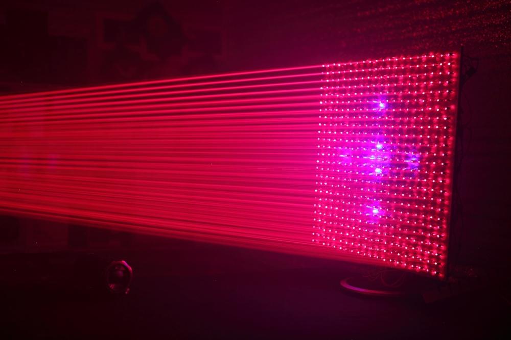 500 лазерных указок в одно место - 16