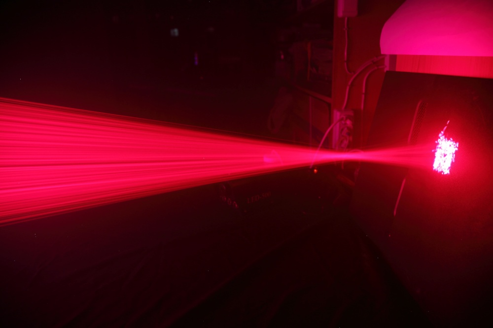 500 лазерных указок в одно место - 17