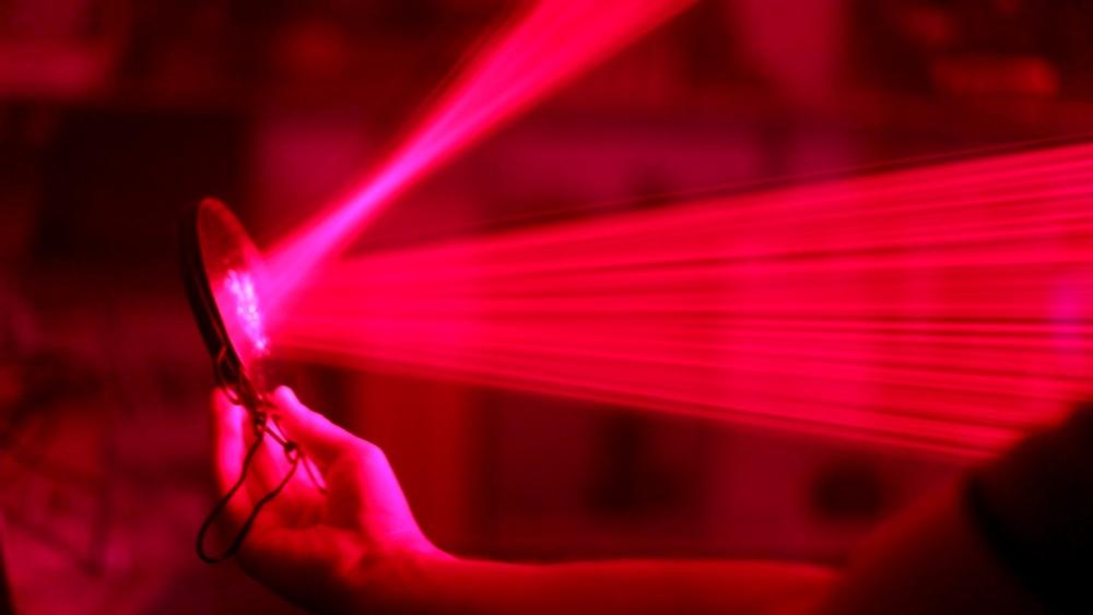 500 лазерных указок в одно место - 20