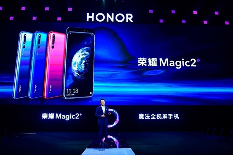 Honor Magic 2: анонсирован безрамочный смартфон-слайдер с чипом Kirin 980 и шестью камерами