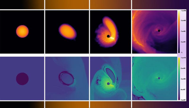 Черные дыры могут возвращать к жизни мертвые звезды