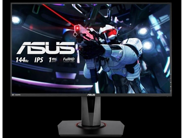 Игровой монитор ASUS VG279Q обладает временем отклика в 1 мс